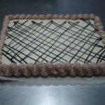 Tarta de chocolate blanco y trufa